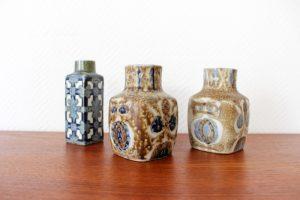 Vases en Céramiques Royal Copenhagen Danemark maison nordik paris