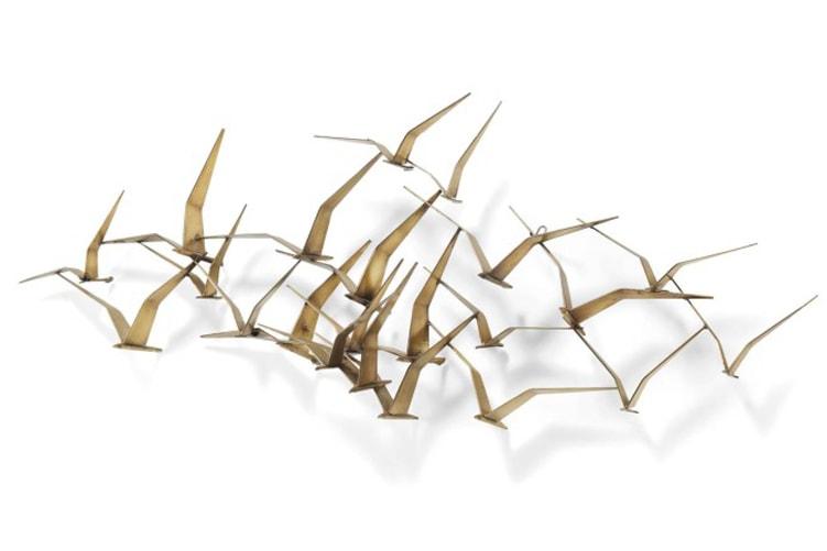sculpture curtis jere seagulls II maison nordik paris