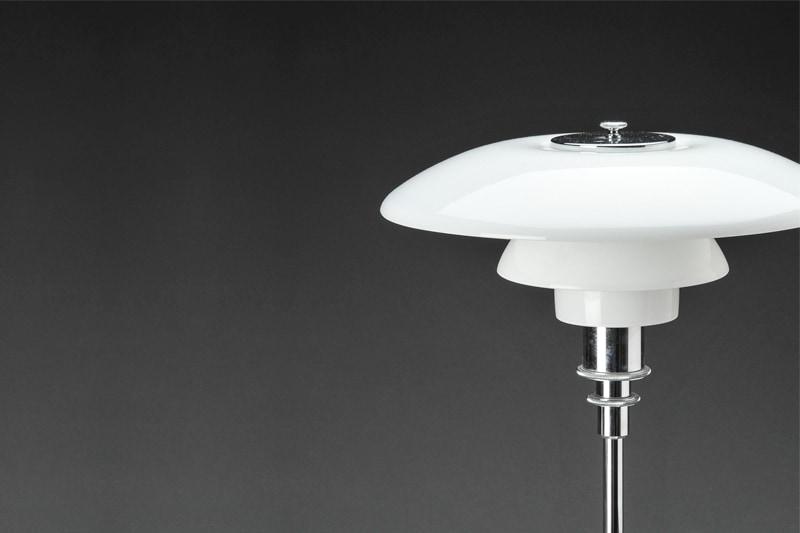 luminaire suspension lumière lampe vintage poul henningsen louis poulsen 3/2 danemark design maison nordik paris