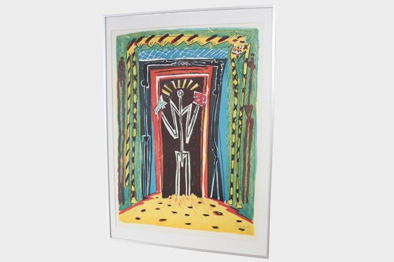 artiste lithographie peter severin danemark maison nordik