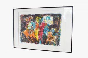 lithographie artiste art torben bohse danemark