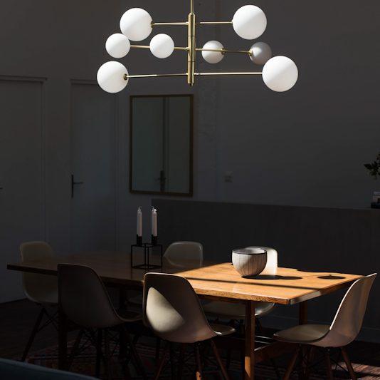 luminaire suspension lumière lampe applique atom aromas design maison nordik paris