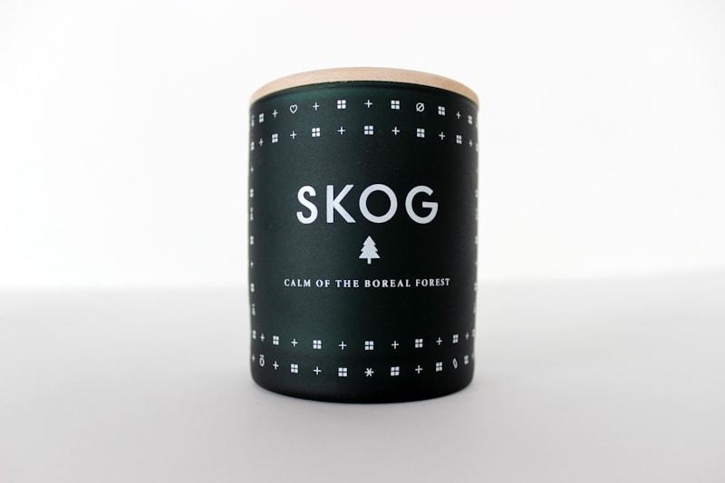 bougie parfumée skandinavisk smog hav koto fjord bal baer nordlys lempi maison nordik paris senteur cire