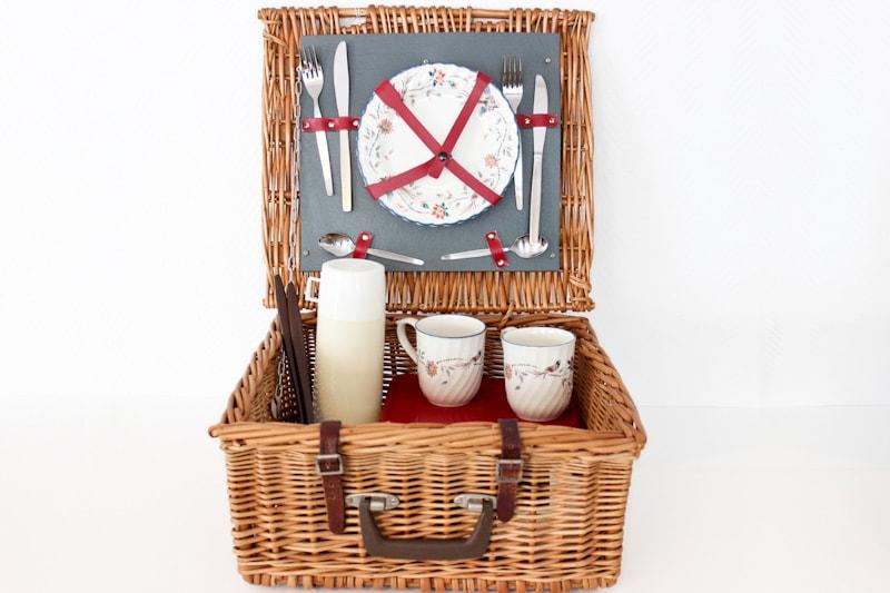 panier picnic pour 2 personnes maison nordik. Black Bedroom Furniture Sets. Home Design Ideas