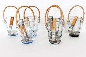 holmegaard jacob bang danemark seaux glace en verre maison nordik paris