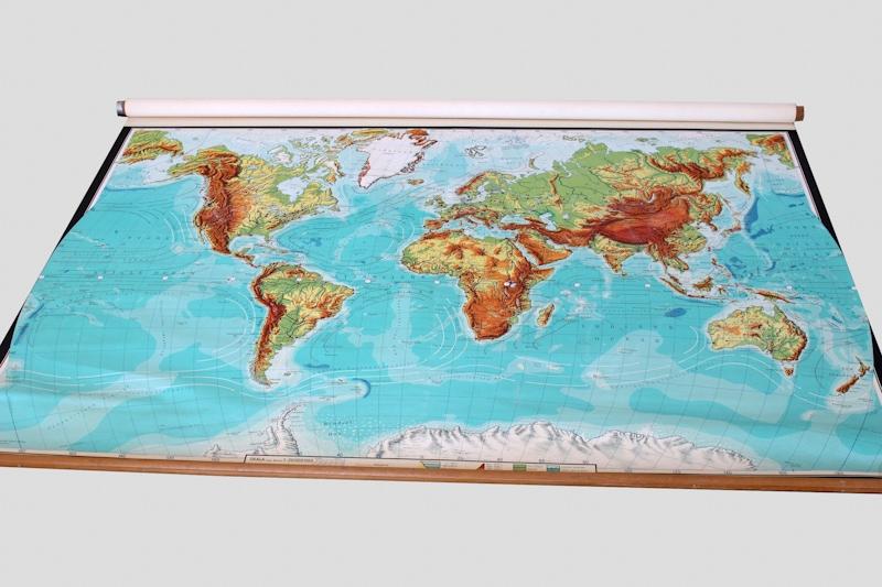 carte géographique du monde Danemark maison nordik paris
