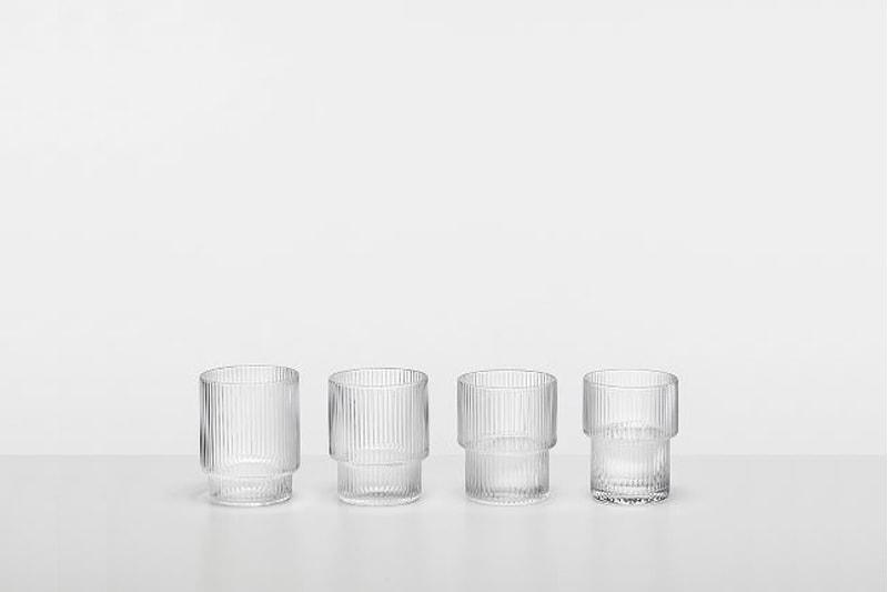 carafe eau verres soufflés ferm living danemark décoration maison nordik paris