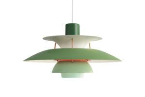 luminaire suspension lumière lampe vintage poul henningsen louis poulsen PH 5 danemark design maison nordik paris