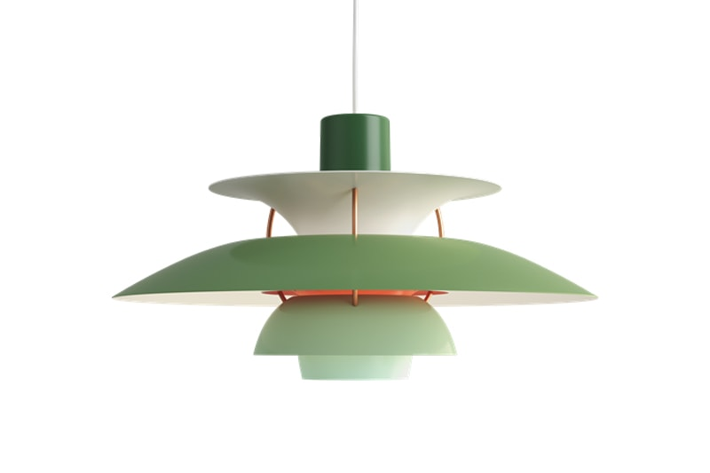 luminaire suspension lumière lampe vintage poul henningsen louis poulsen PH 5 danemark design maison nordik paris