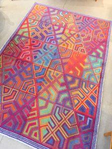tapis laine design designer iels Nedergaard Danemark Collection Ege Art Line décoration maison nordik paris