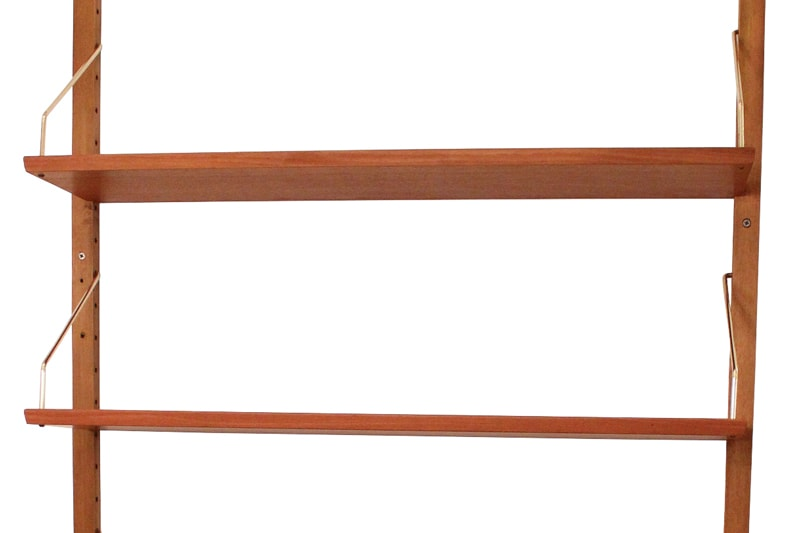 danish modern vintage teck palissandre rio années 50 années 60 années 70 mobilier ancien danois danemark scandinave maison nordik paris meubles design designer décoration reolsystem étagère teck
