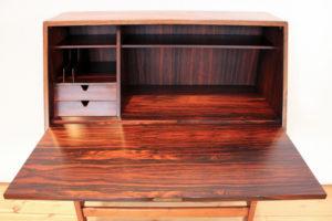 danish modern vintage teck palissandre rio années 50 années 60 années 70 mobilier ancien danois danemark scandinave maison nordik paris meubles design designer décoration secrétaire