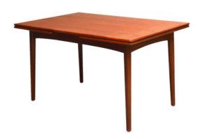 danish modern vintage teck palissandre rio années 50 années 60 années 70 mobilier ancien danois danemark scandinave maison nordik paris meubles design designer décoration table repas à manger rallonges