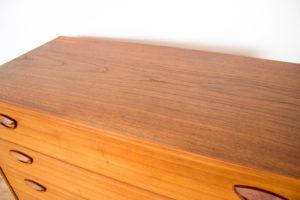 danish modern vintage teck palissandre rio années 50 années 60 années 70 mobilier ancien danois danemark scandinave maison nordik paris meubles design designer décoration ccommode chiffonnier kai kristiansen