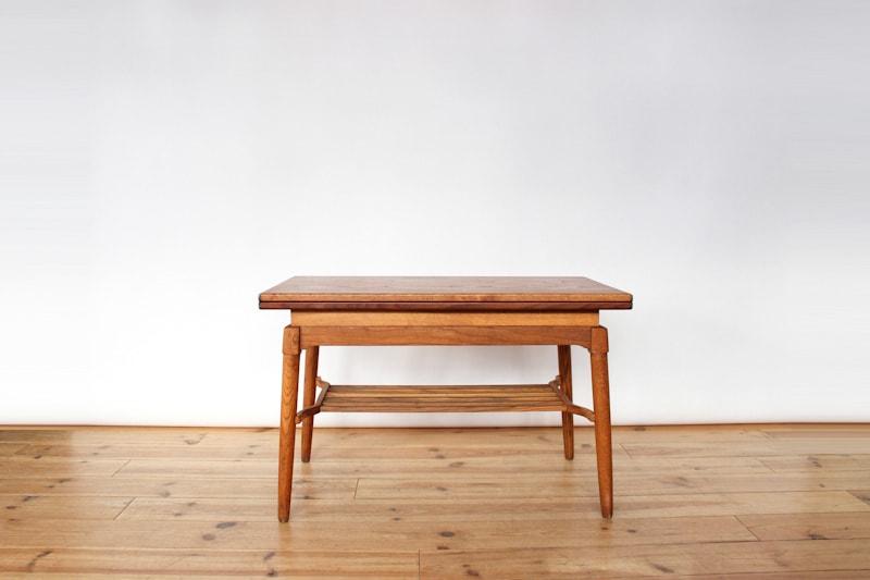 danish modern vintage teck palissandre rio années 50 années 60 années 70 mobilier meuble ancien danois danemark scandinave maison nordik paris meubles décoration design designer éditeur table basse modulable table de repas