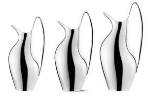 danish modern mid century vintage teck palissandre rio années 50 années 60 années 70 mobilier meuble ancien danois danemark scandinave maison nordik paris meubles décoration design designer henning koppel georg jensen pichet 1,2 litre 0,75 litre pichet à eau carafe 3586663 3586847