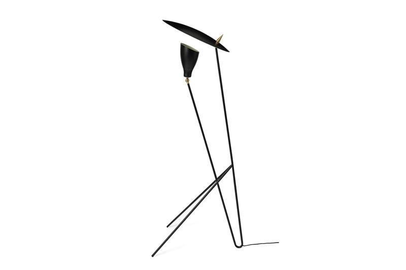 danish modern mid century vintage teck palissandre rio années 50 années 60 années 70 mobilier meuble ancien danois danemark scandinave maison nordik paris meubles décoration design designer svend aage holm sørensen warm nordik lampadaire silhouette lampe lumière éclairage suspension