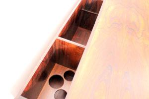 danish modern mid century vintage teck palissandre rio années 50 années 60 années 70 mobilier meuble ancien danois danemark scandinave maison nordik paris meubles décoration design editeur lyby mobler designer bureau palissandre de rio 150cm