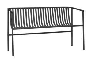danish modern mid century vintage teck palissandre rio années 50 années 60 années 70 mobilier meuble ancien danois danemark scandinave maison nordik paris meubles décoration design editeur designer hubsch banc assise en métal gris pour le jardin pour l'extérieur référence 990849