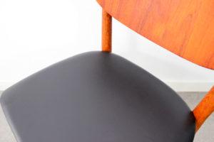 danish modern mid century vintage teck palissandre rio années 50 années 60 années 70 mobilier meuble ancien danois danemark scandinave maison nordik paris meubles décoration design editeur designer Niels & Eva Koppel chaise de table chaise assise s'assoir fauteuil de table