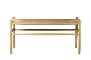 danish modern mid century vintage teck palissandre rio années 50 années 60 années 70 mobilier meuble ancien danois danemark scandinave maison nordik paris meubles décoration design editeur fdb designer Jørgen Bækmark banc modèle J163 assise s'assoir siège chaise fauteuil