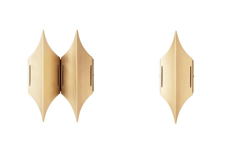 danish modern mid century vintage teck palissandre rio années 50 années 60 années 70 mobilier meuble ancien danois danemark scandinave maison nordik paris meubles décoration design editeur lyfa designer bent karlby applique modèle gothic en laiton lampe luminaire éclairage