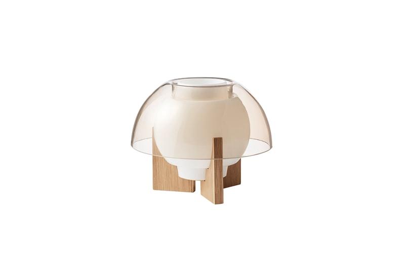 danish modern mid century vintage teck palissandre rio années 50 années 60 années 70 mobilier meuble ancien danois danemark scandinave maison nordik paris meubles décoration design editeur lyfa designer bent karlby lampe de table modèle ergo en verre lampe luminaire éclairage