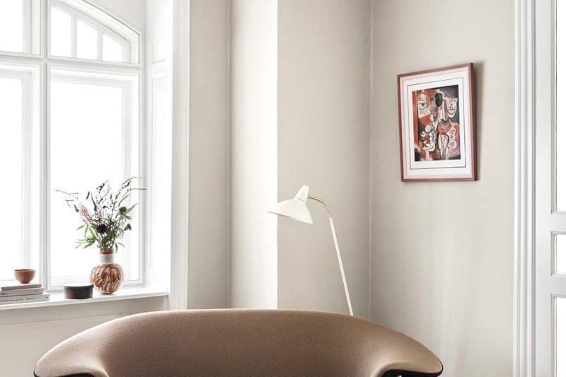 danish modern mid century vintage teck palissandre rio années 50 années 60 années 70 mobilier meuble ancien danois danemark scandinave maison nordik paris meubles décoration design designer hans olsen marque fabricant warm nordik canapé modèle fried egg fauteuil assise chaise s'assoir siège