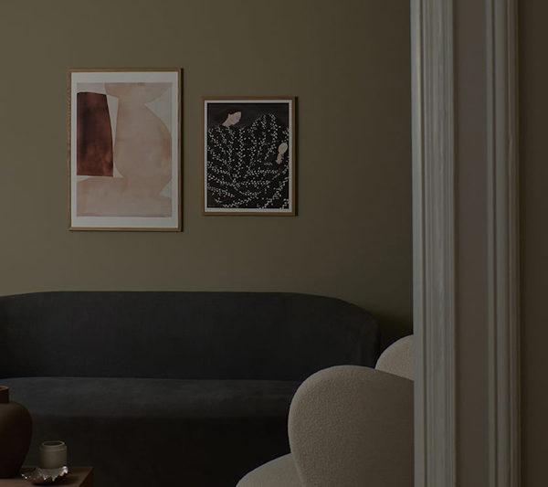 danish modern vintage teck palissandre rio années 50 années 60 années 70 mobilier meuble ancien danois danemark scandinave maison nordik paris meubles décoration design designer éditeur poster sous cadre art sérigraphie poster club sofia lind poster mirror mirror
