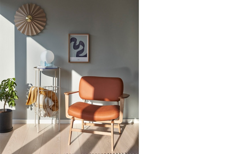 danish modern mid century vintage teck palissandre rio années 50 années 60 années 70 mobilier meuble ancien danois danemark scandinave maison nordik paris meubles décoration design éditeur designer marque hubsch applique murale référence 991310 en textile et laiton lumière lampe éclairage lampe